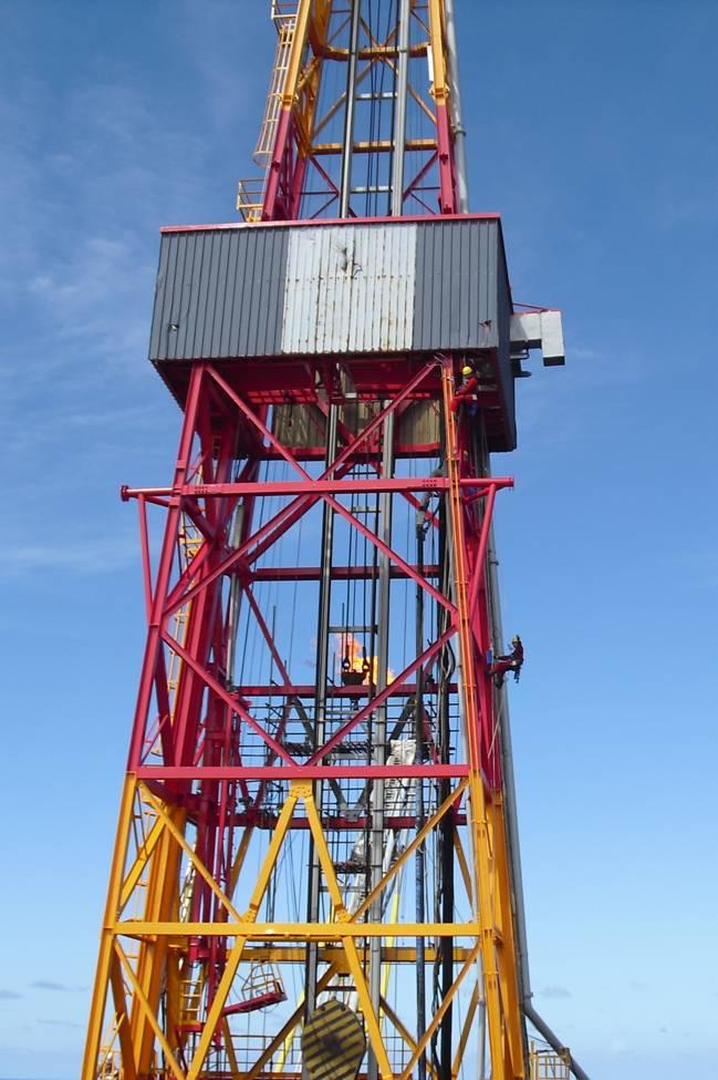 石油井架结构设计